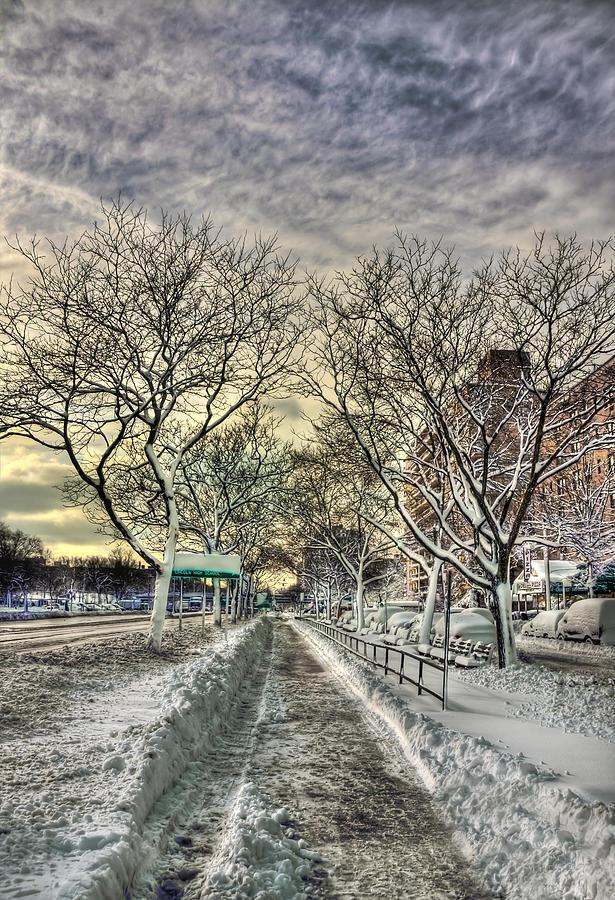 Snow Photograph - Snowbound by Evelina Kremsdorf