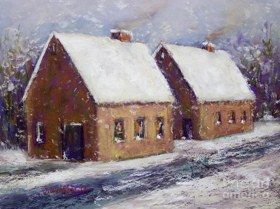 Snow Pastel - Snowbound by Joyce A Guariglia