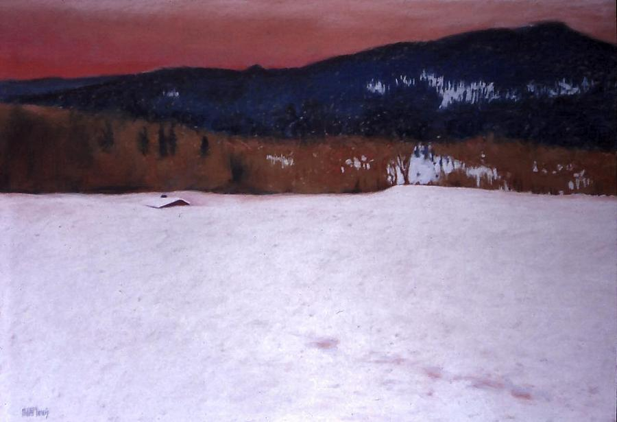 Pastel Painting - Snowbound by Mary McInnis