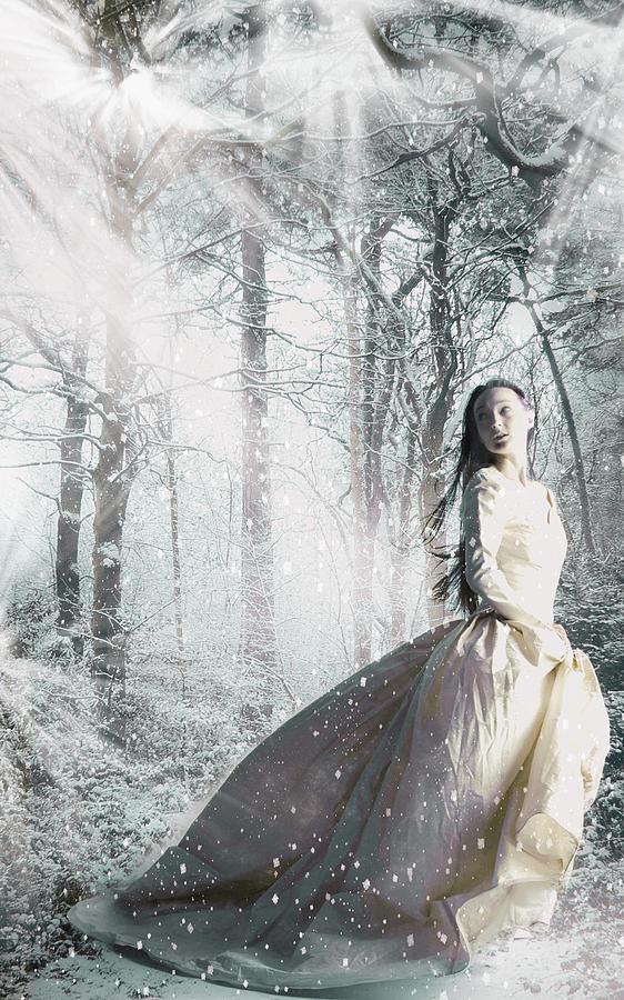 Snow Digital Art - Snowbound by Veronica Riga