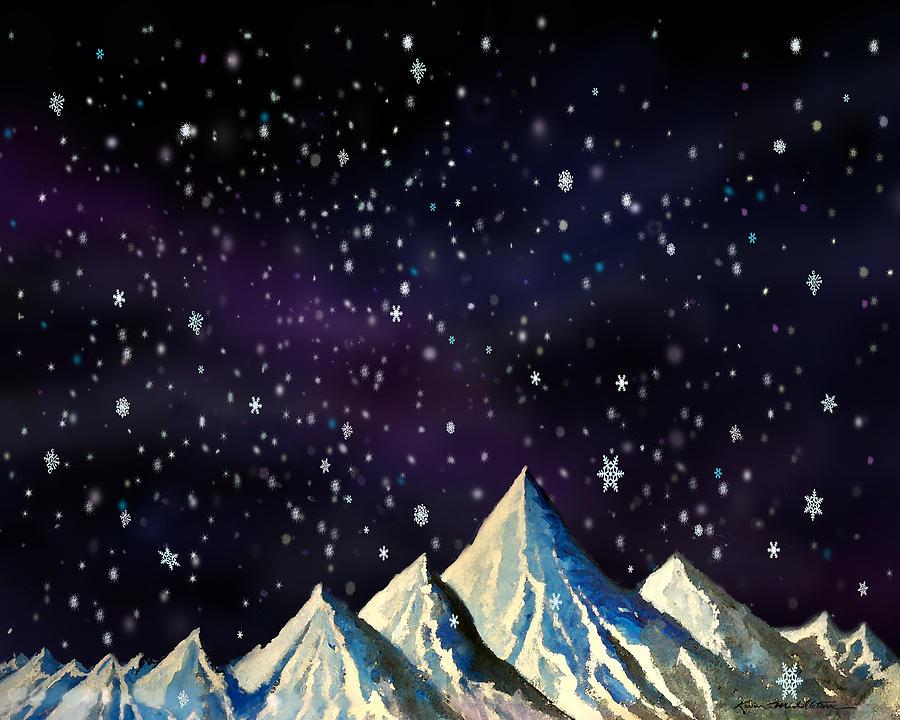 Snowfakes Digital Art