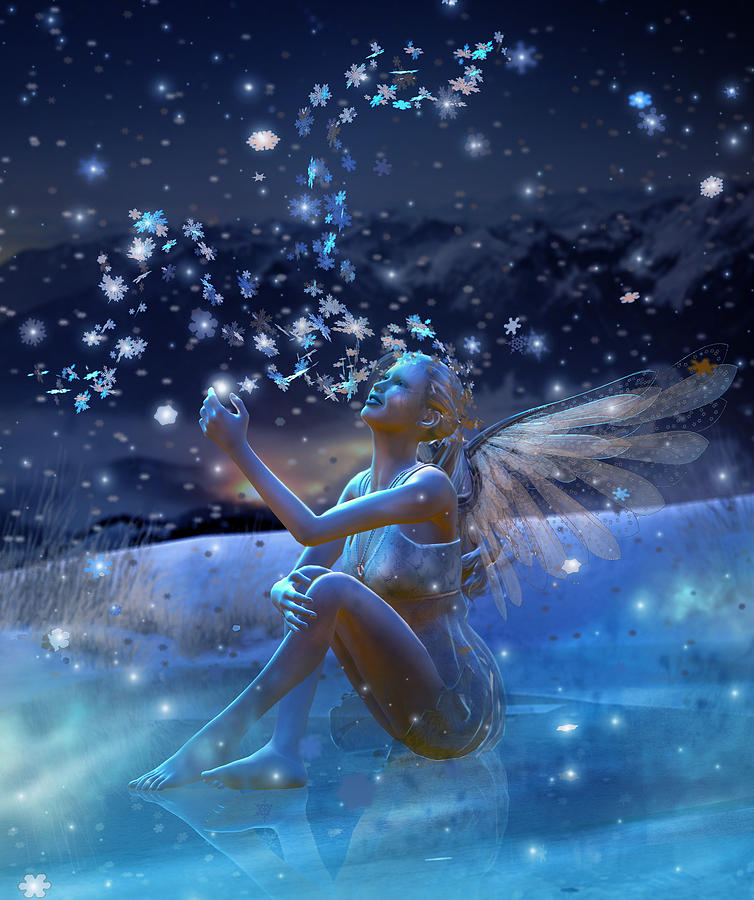 Snowflake Digital Art