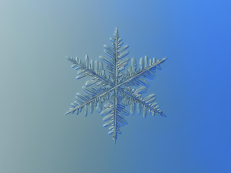 Snowflake Photograph - Snowflake Photo - Winter Is Coming by Alexey Kljatov