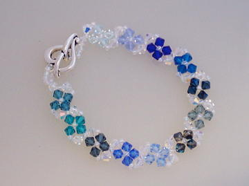 Beadwork Jewelry - Snowflakes Of The Season by Ema Colon