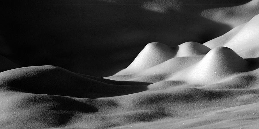 Snow Photograph - Snowscape 1 by Catherine Lau