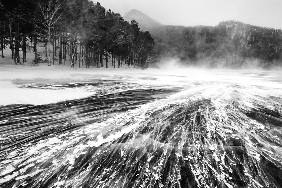 Snowstorm Photograph - Snowstorm by Hayato Matsumoto