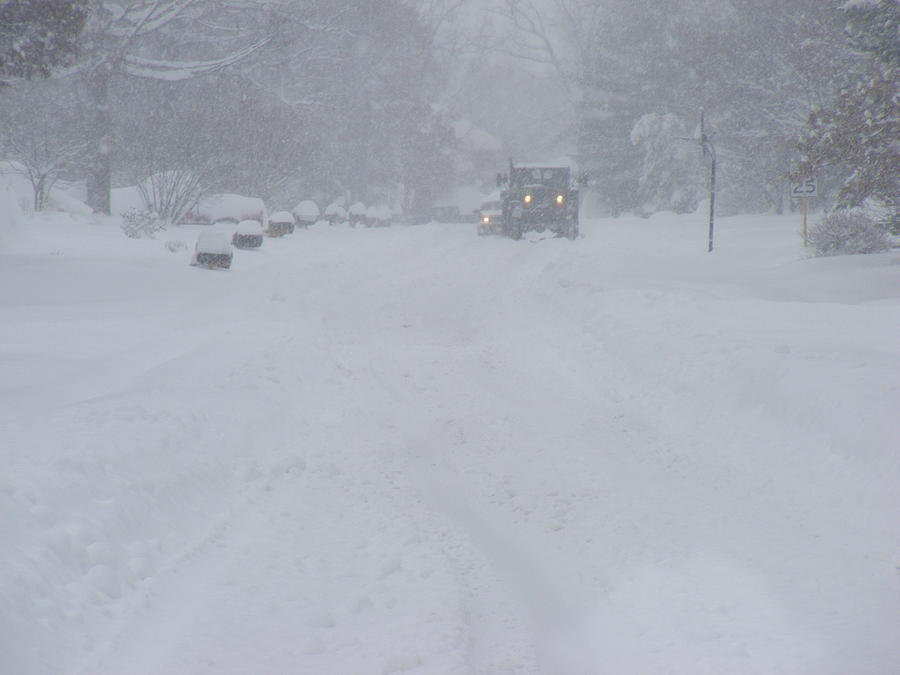 Snowstorm Photograph - Snowstorm by James and Vickie Rankin