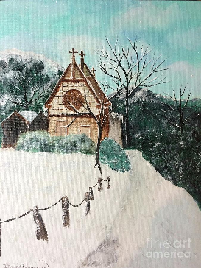 Snowy Daze by DENISE TOMASURA