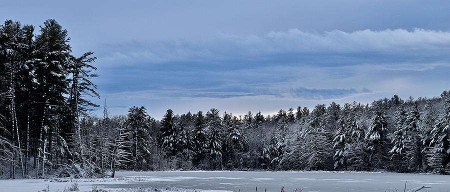 Snowy Lake by Chris Alberding