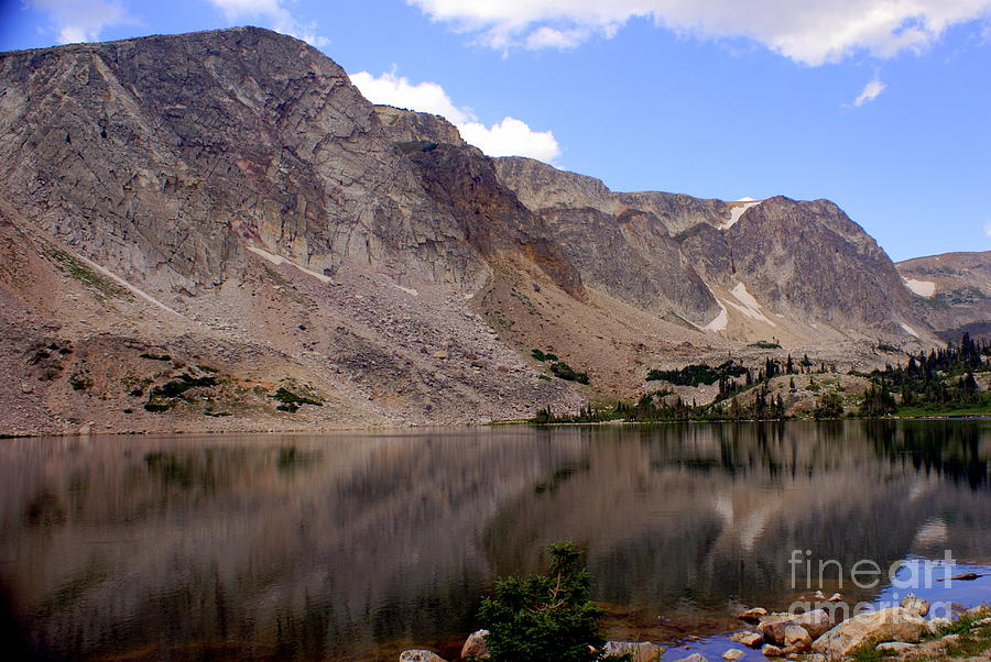 Lake Photograph - Snowy Mountain Loop 4 by Marty Koch
