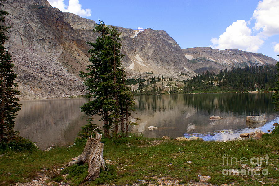 Lake Photograph - Snowy Mountain Loop 5 by Marty Koch