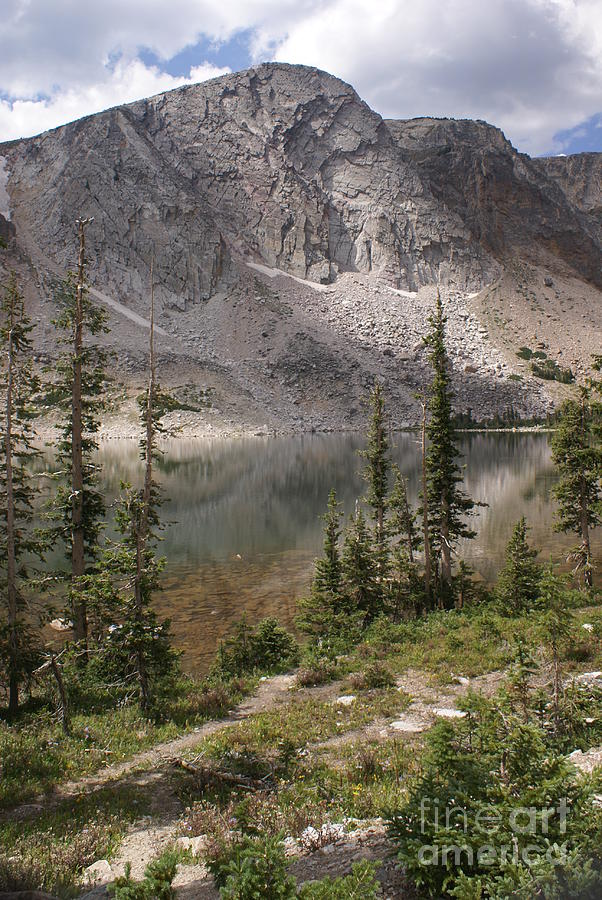 Lake Photograph - Snowy Mountain Loop 6 by Marty Koch