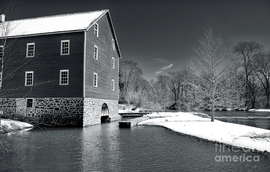 Snowy River Photograph - Snowy River by John Rizzuto