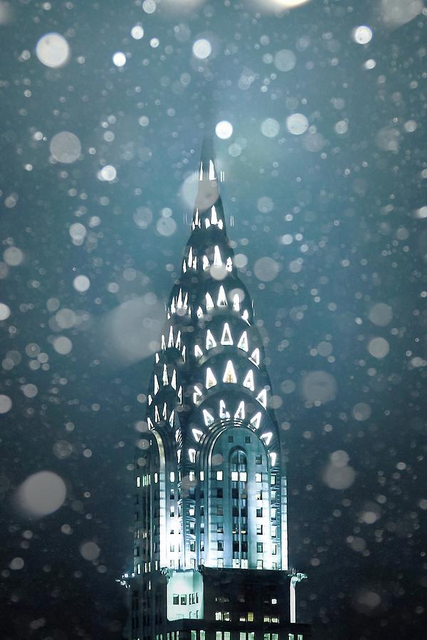 New York City Photograph - Snowy Spires by Az Jackson