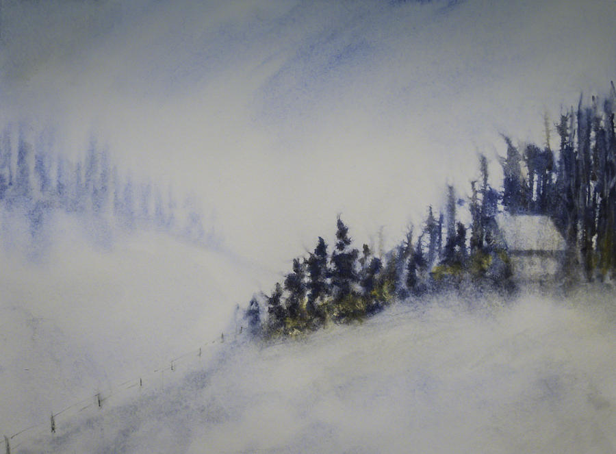 Snowy Winter by Terry Ann Morris