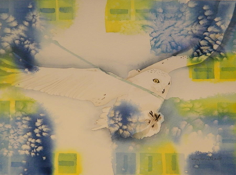 Snowy Owl Painting - S.o. Cold by Terry Honstead