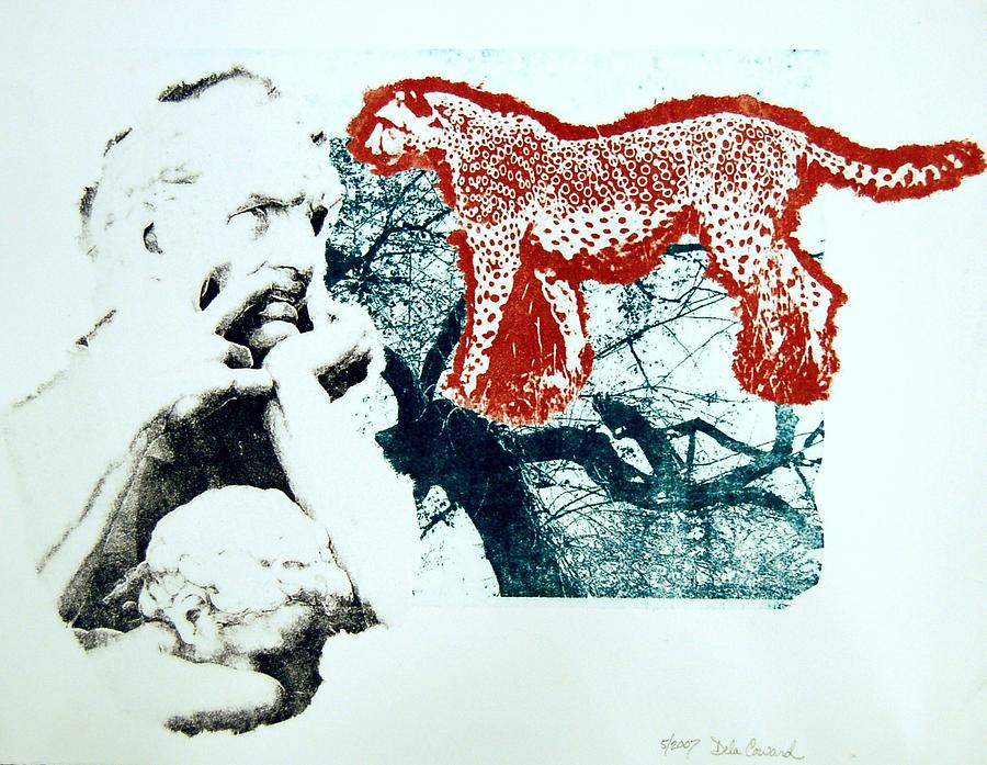 Figure Print - So Hungry by DeLa Hayes Coward