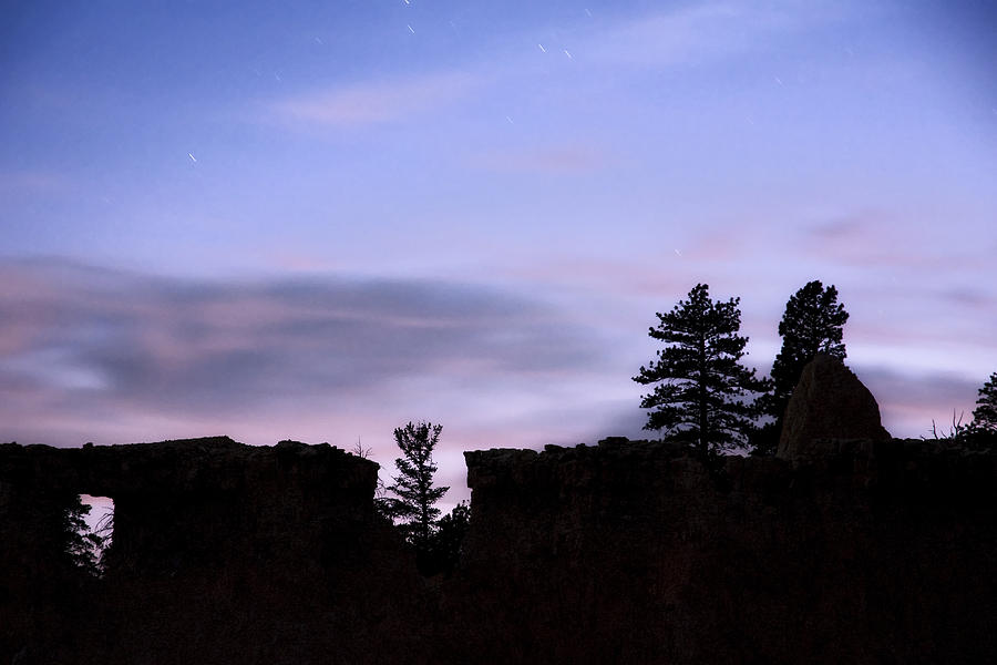 Silhouette Photograph - So It Began by Mike McMurray