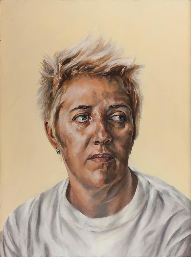 Portrait Painting - So Many Regrets by Jolante Hesse
