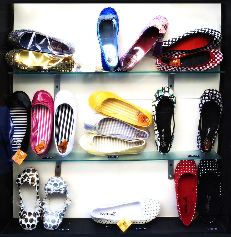 Shoes Photograph - So Many Shoes... by Marilyn Hunt