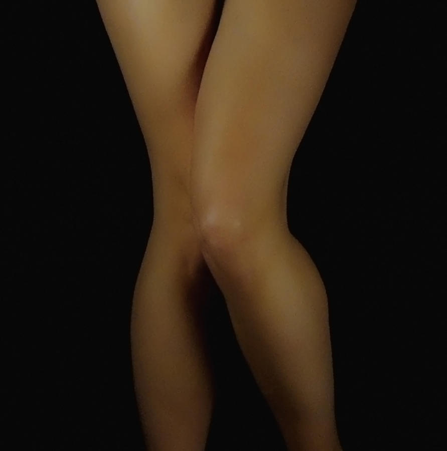 Legs Photograph - So Shy by Donna Blackhall