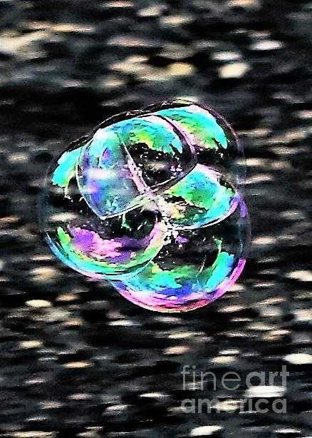 Abstract Photograph - Soap Bubble Mania #1 by Diann Fisher