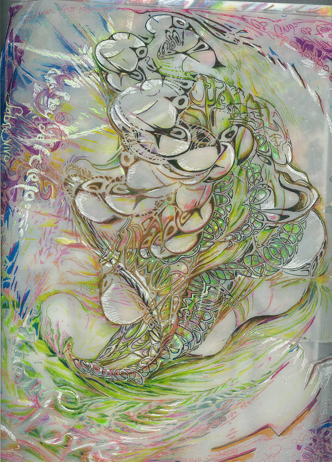 Sobrevivo Drawing by Jeremy Robinson