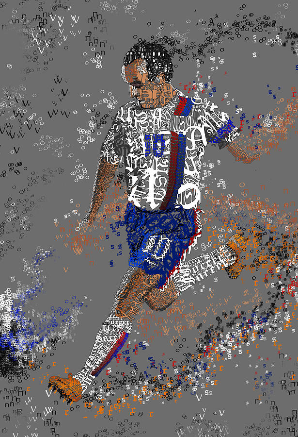 Soccer Painting - Soccer by Danielle Kasony
