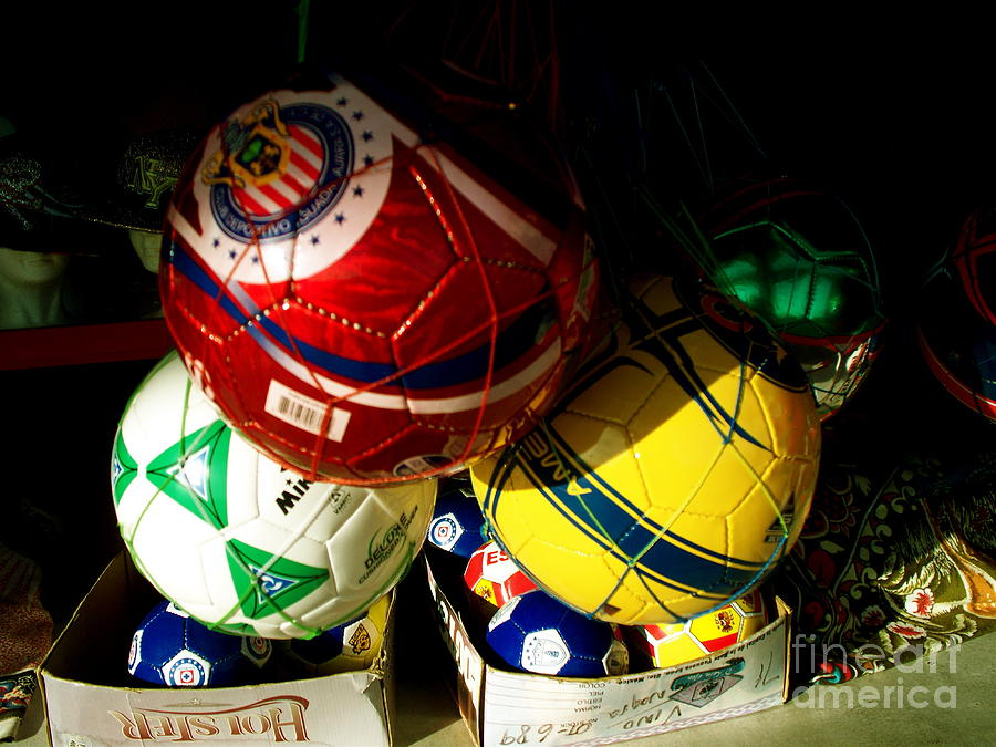Soccer Photograph - Soccer For Sale by Chuck Taylor