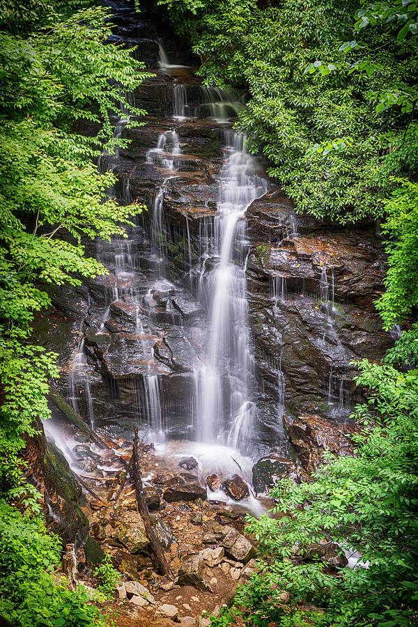North Carolina Photograph - Socco Falls by Stephen Stookey