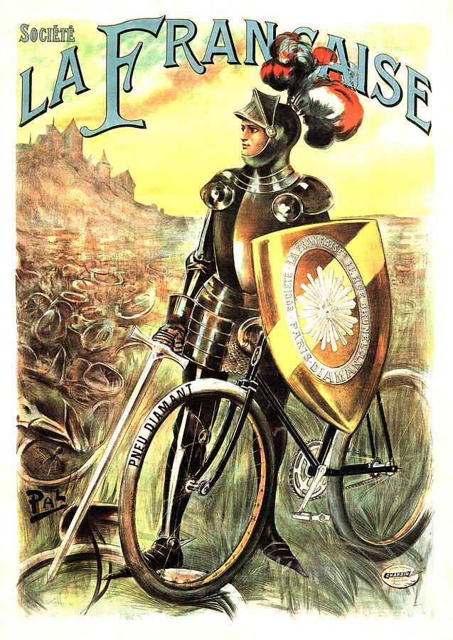 Societe Automobile Car Advertisement Art Poster Print