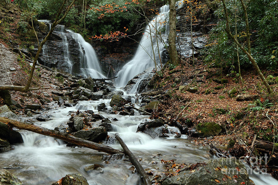 Nature Photograph - Soco Falls by Rick Mann