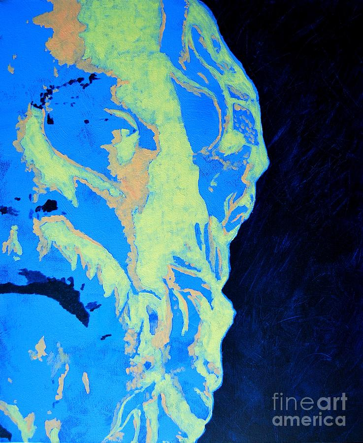 Socrates Painting - Socrates - Ancient Greek Philosopher by Ana Maria Edulescu