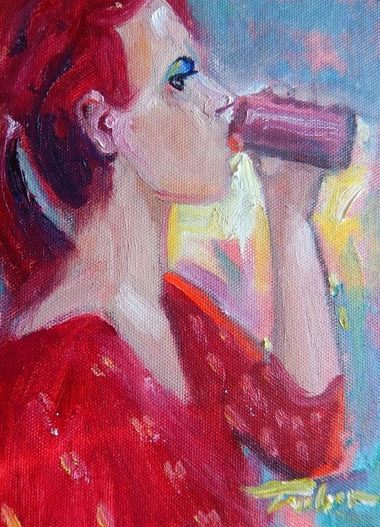 Soda Painting - Sodapop by Ron Wilson