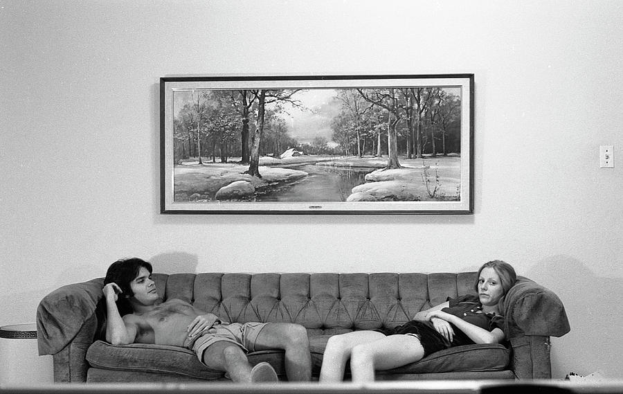 Sofa-Sized Picture, With Light Switch, 1973 by Jeremy Butler
