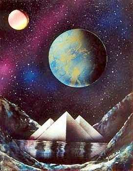 Cosmic Painting - Sofar Serenity by Gary Greenberg
