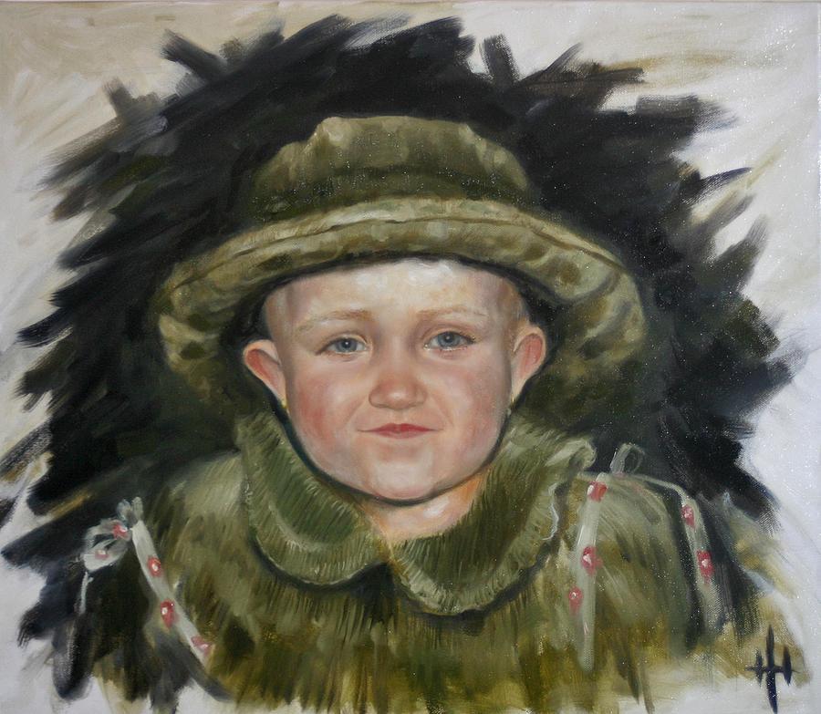 Portret Painting - Sofi by Yevgeniy Dubkov