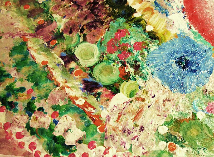 Sofias Flowers Painting by HollyWood Creation By linda zanini