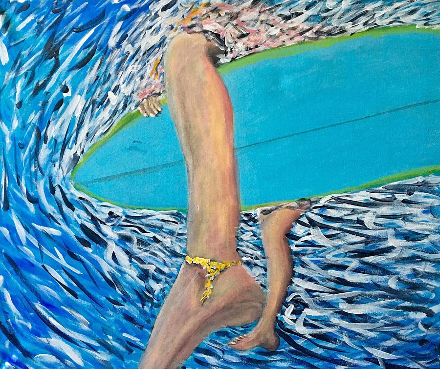 Seascape Painting - SoFlo Flow by Robbie Potter