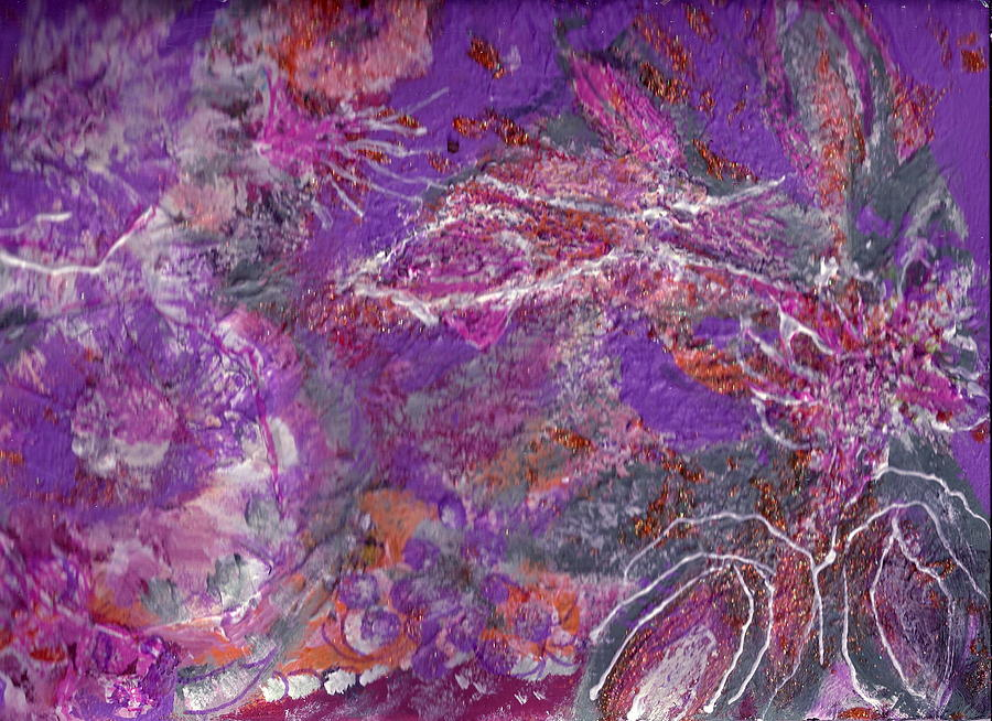 Pink Painting - Soft And Dreamy Thoughts Of You by Anne-Elizabeth Whiteway