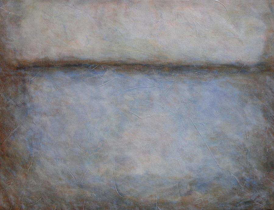 Soft Awakening Abstract Painting by Karla Beatty