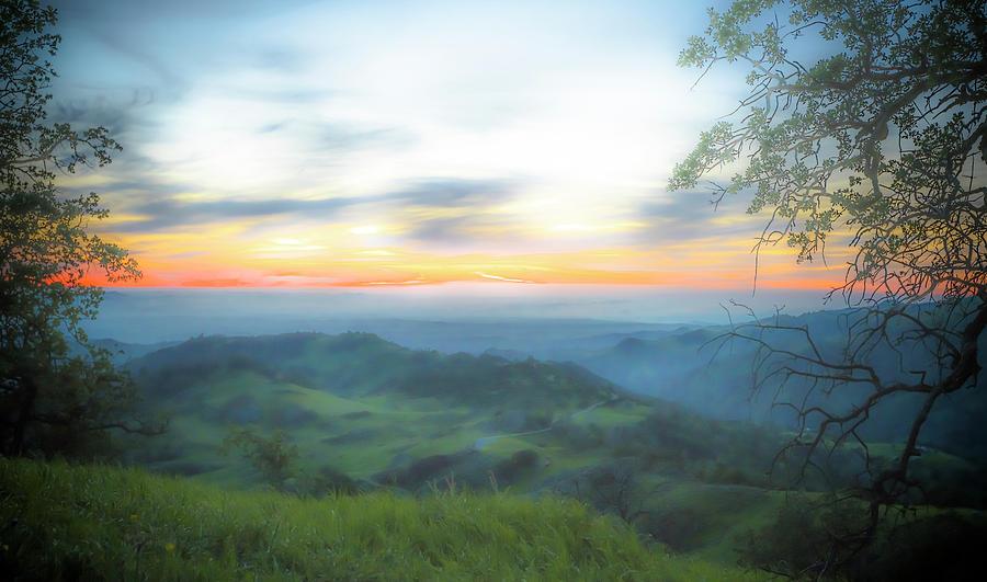 Landscape Photograph - Soft Figueroa Mountain by Bryan Toro