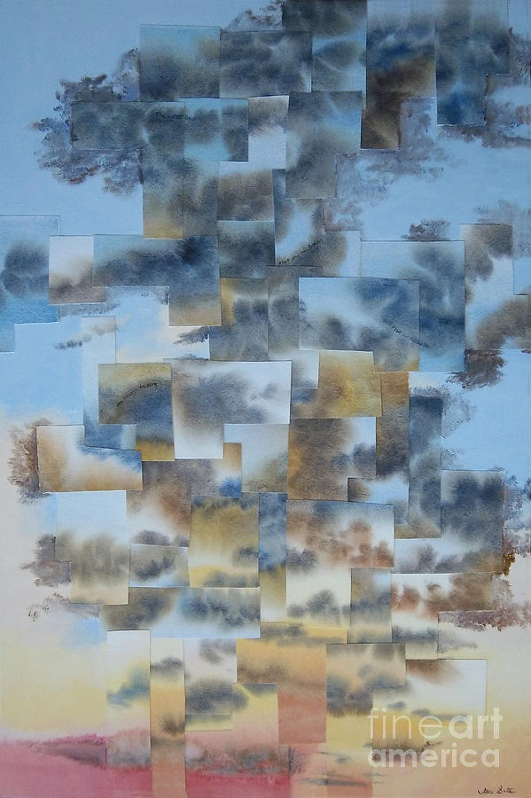 Skyscape Painting - Soft Light by Jeni Bate