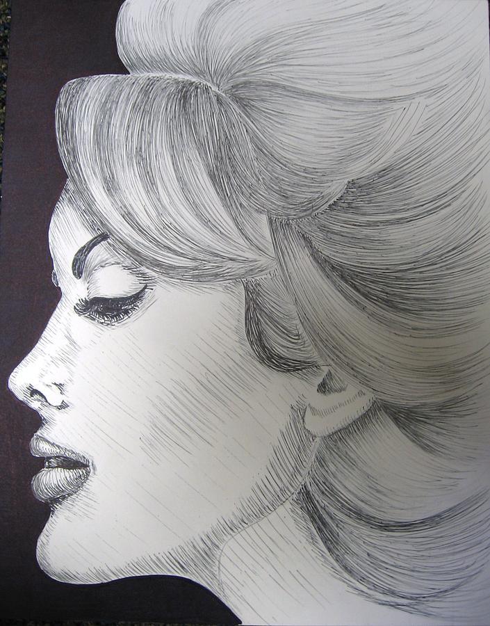 Soft Drawing by Sara Ashley