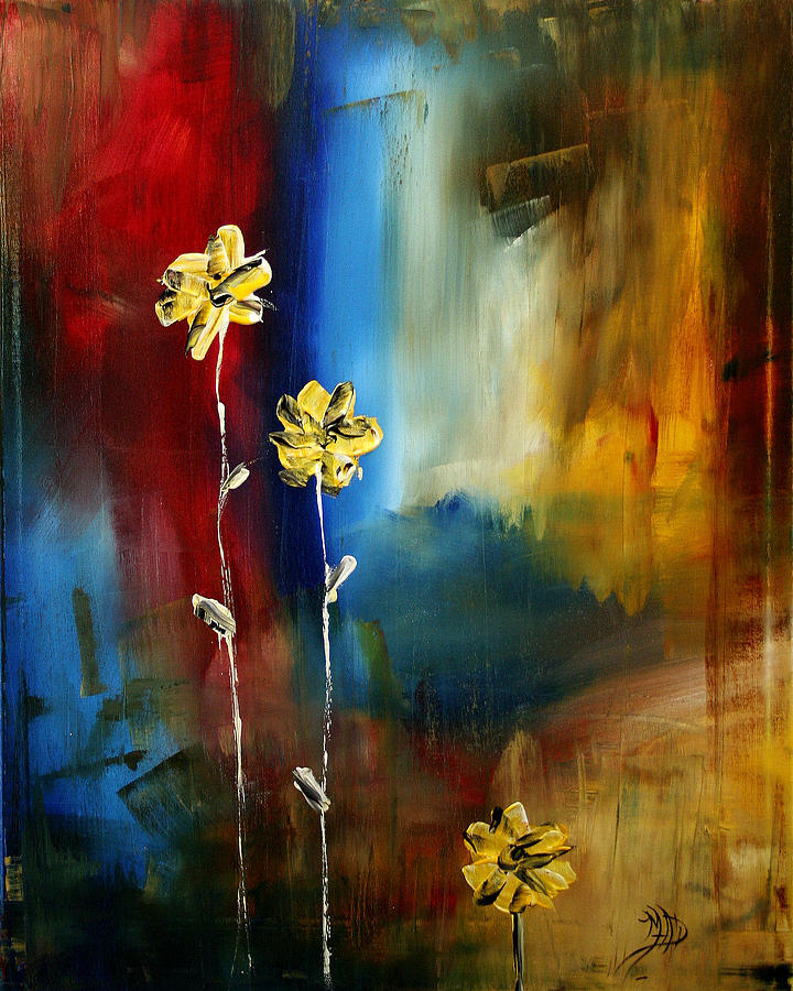 Wall Painting - Soft Touch by Megan Duncanson