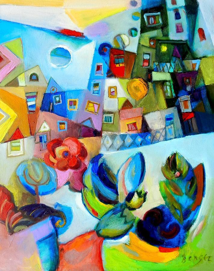 Oil Painting - Sogno Di Primavera by Miljenko Bengez