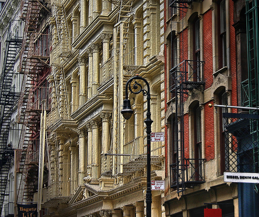 Soho Buildings Photograph