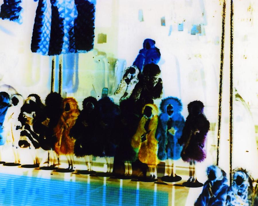 Creepy Photograph - Soho Shop Window by Karin Kohlmeier