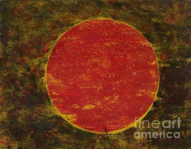 Abstract Painting - Sol by Joseph Callahan