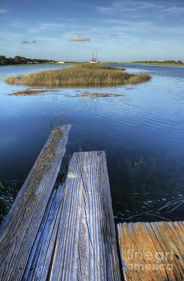 Dock Photograph - Sol Legare II by Dustin K Ryan